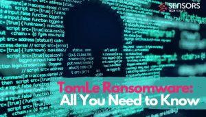 TomLe Dharma Ransomware TomLe file virus