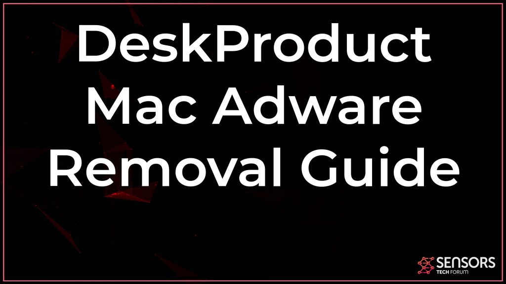 DeskProduct Mac Adware Removal