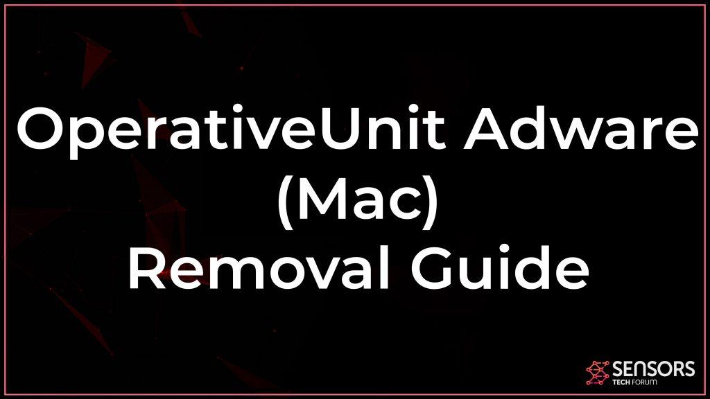 OperativeUnit Mac Adware