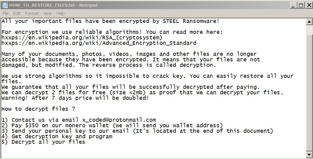 steel-ransomware-ransom-note