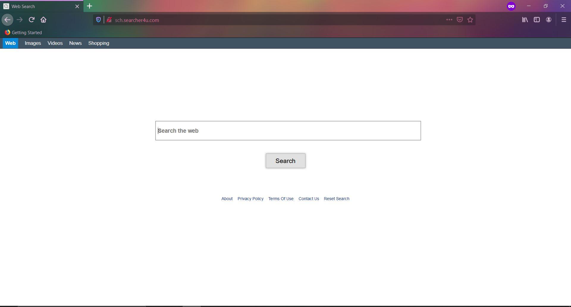 Guide til fjernelse af Searcher4u.com omdirigering