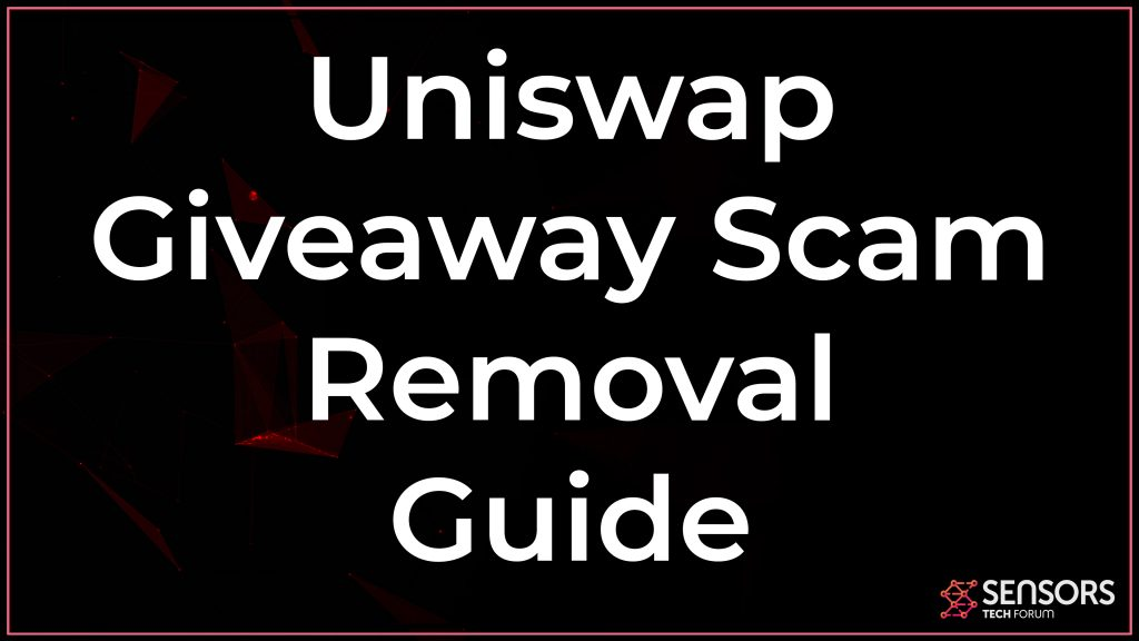 Uniswap Giveaway Scam Removal