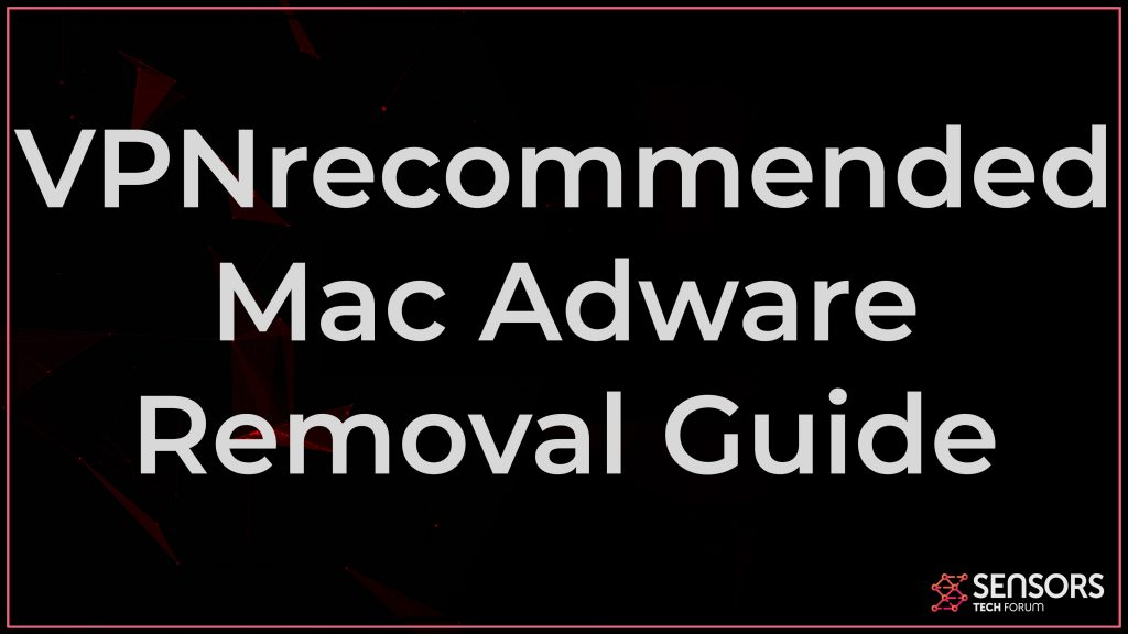 VPNrecommended Mac Adware