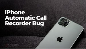 iphone automatic call recorder bug