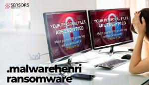malwarehenri ransomware victim