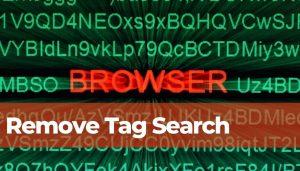 remove tag search