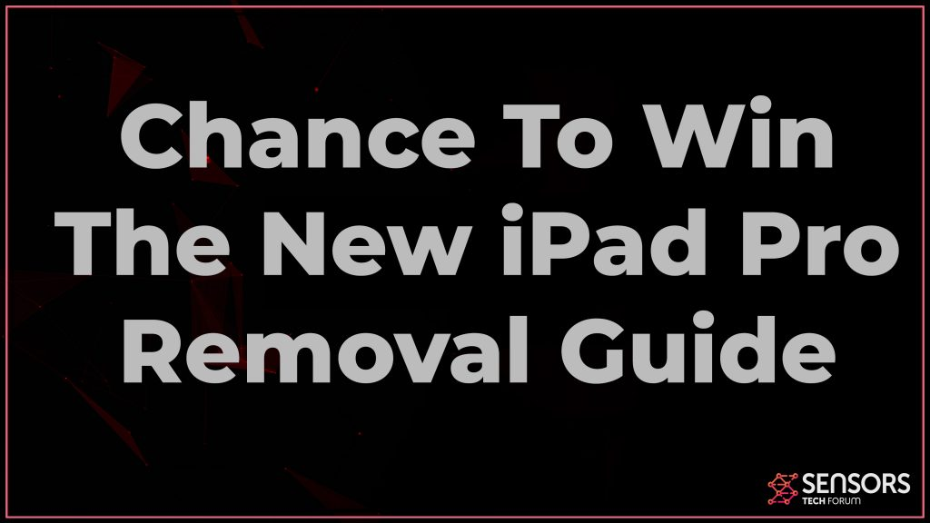 Chance To Win The New iPad Pro