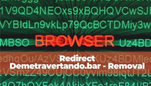 Suppression de Demetravertando.bar Redirect Ads