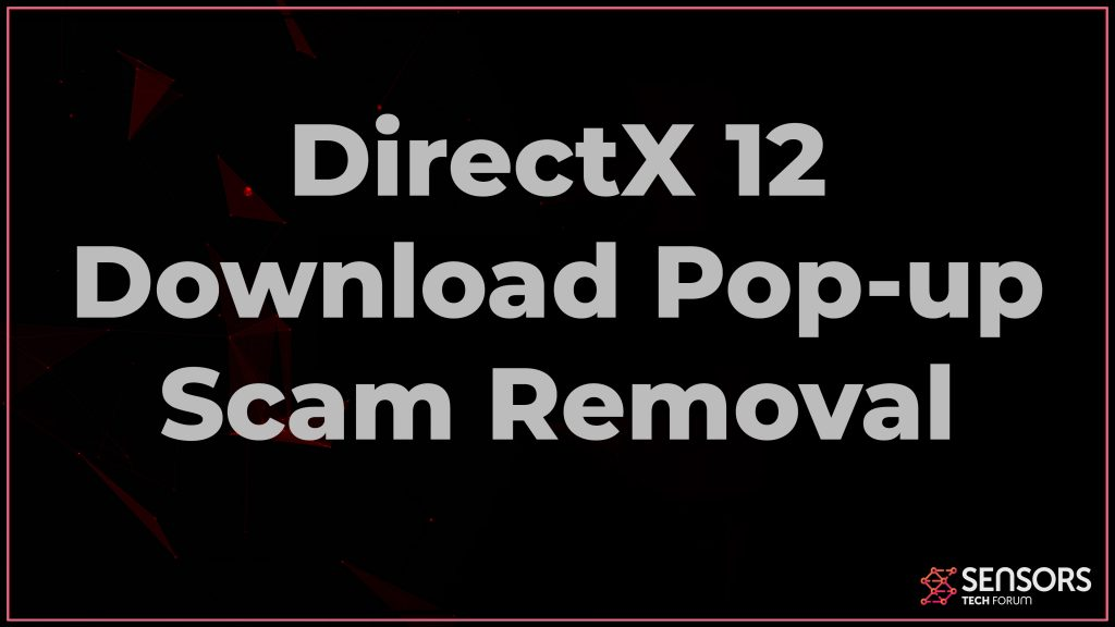 DirectX 12 Download scam