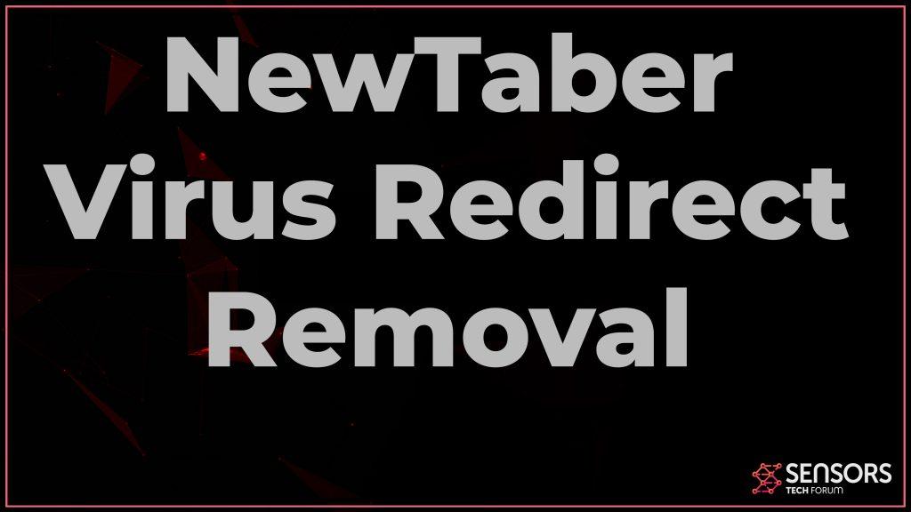 NewTaber Virus Redirect Removal