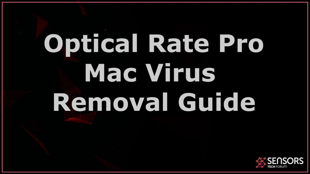 Optical Rate Pro Mac Removal Guide