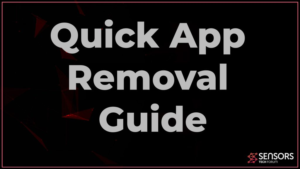 Quick App Browser Redirect Removal