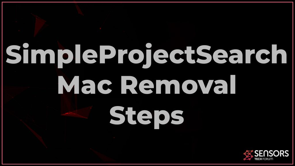 SimpleProjectSearch Mac Removal