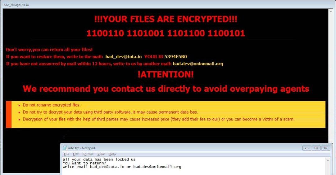 bad-dev-tuta-io-ransom-mesage-pop-up-bdev-virus-ransomware-stf