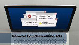 rimuovere gli annunci di reindirizzamento Eouldeco.online