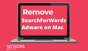 remove SearchForWords adware on mac sensorstechforum removal guide