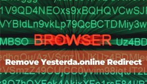 eliminar los anuncios de redirección Yesterda.online