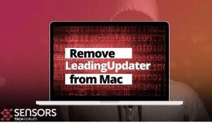 Remove LeadingUpdater Mac Adware