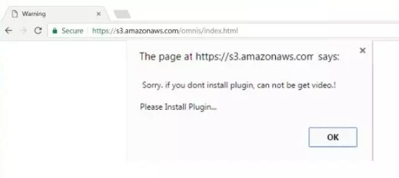 S3.amazonaws.com scam page