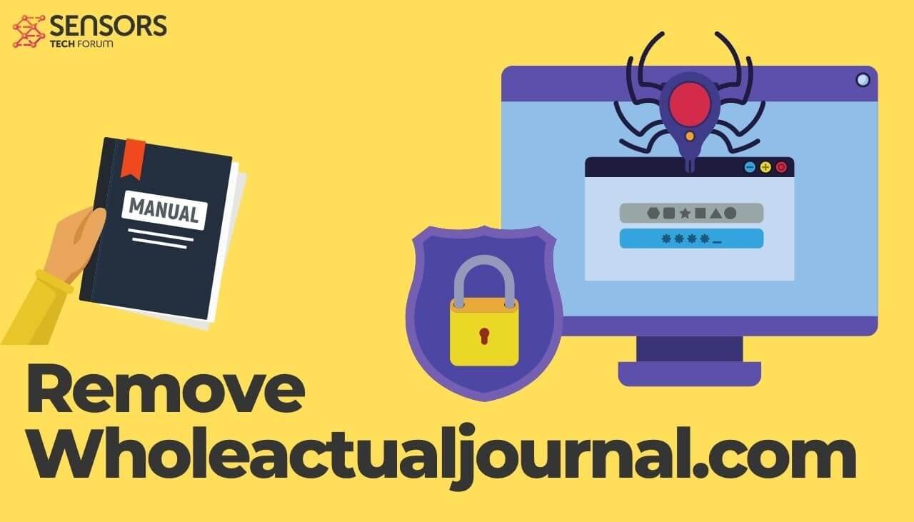 Wholeactualjournal-com-removal-manual-sensorstechforum