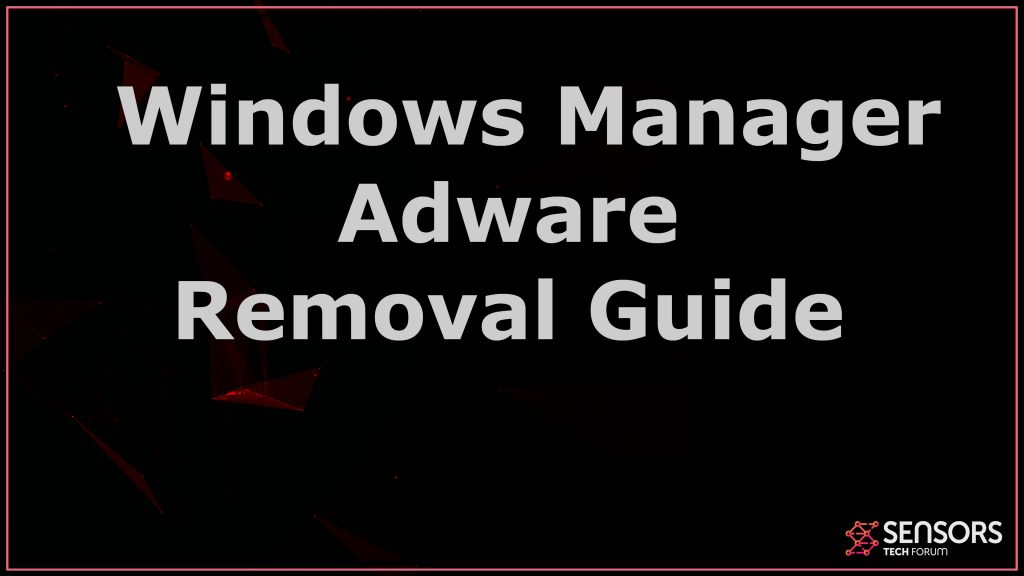 Windows Manager Adware