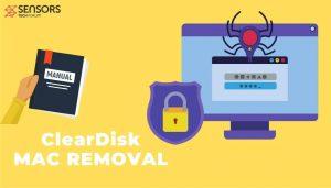 remove ClearDisk Mac Adware