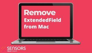 Wenn Sie ExtendedField entfernen, wird Ihr Computer-Mac beschädigt