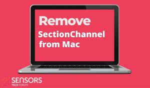 remove SectionChannel mac virus
