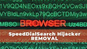 remove SpeedDialSearch