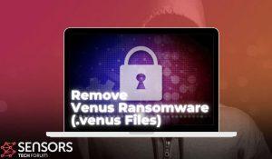 remove venus ransomware virus venus files