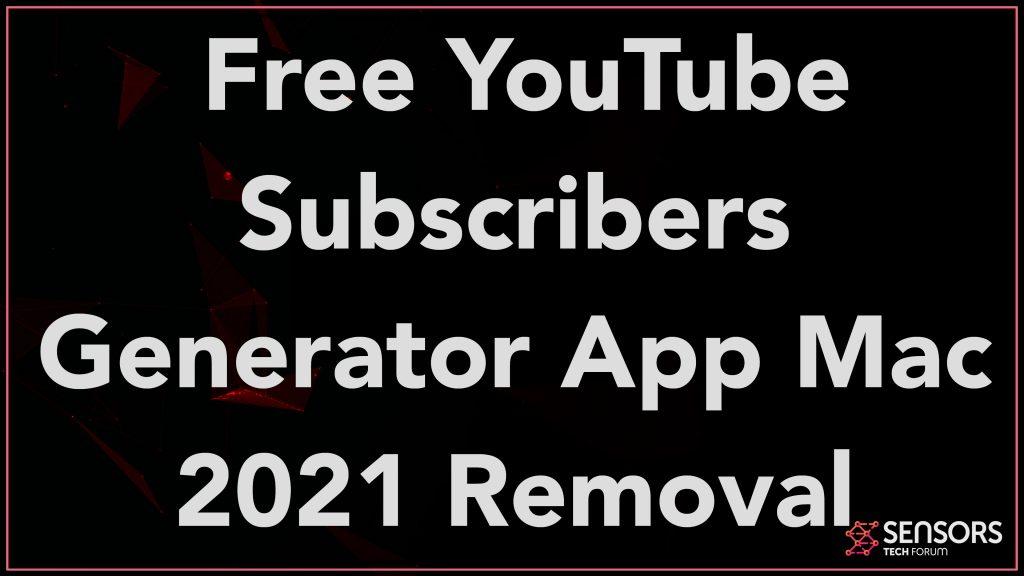 Free YouTube Subscribers Generator App Mac 2021