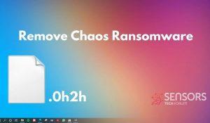 Remove Chaos Virus Ryuk Ransomware SensorsTechForum