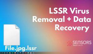 lssr virus file remove sensorstechforum ransomware removal guide