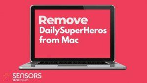 remove DailySuperHeros from mac