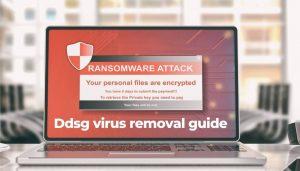 remove Ddsg virus files sensorstechforum