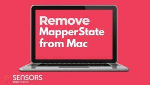 remove MapperState mac adware pup sensorstechforum guide