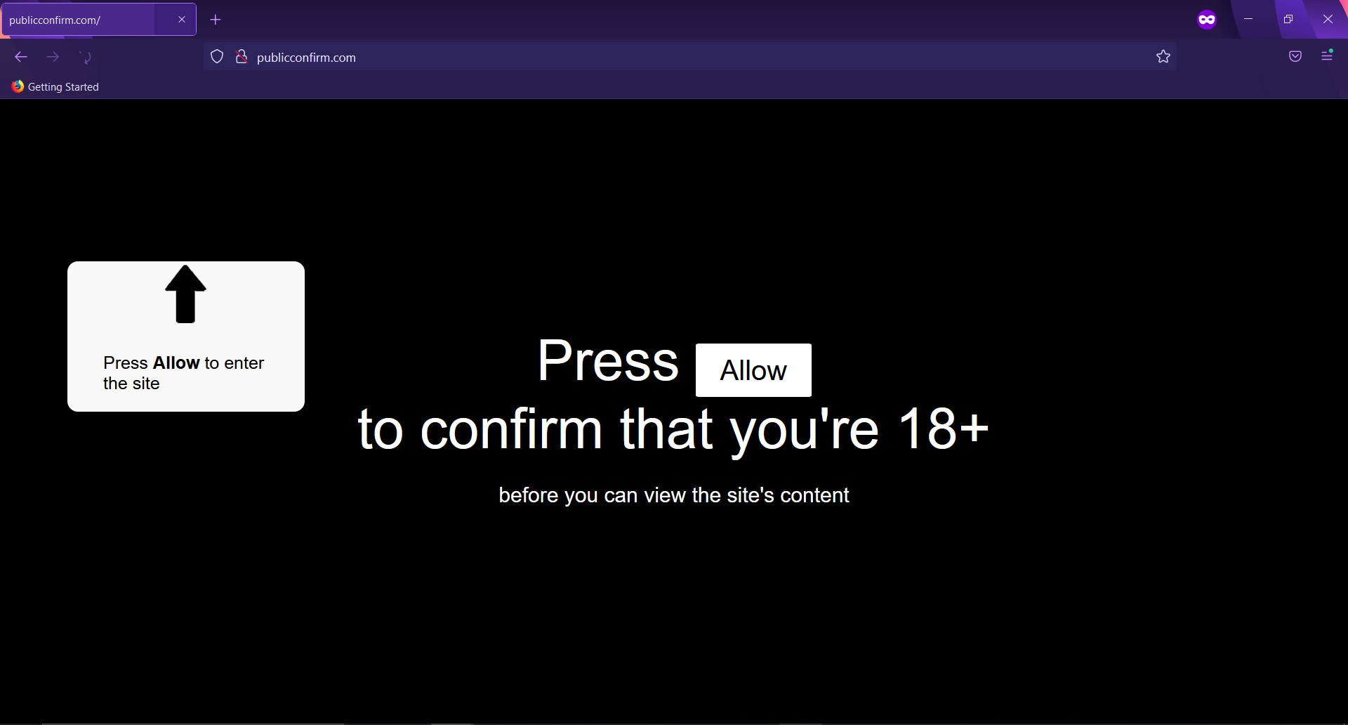 remove Publicconfirm.com browser redirect