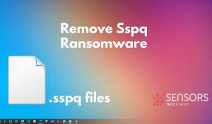 remove Sspq ransomware sspq virus files sensorstechforum