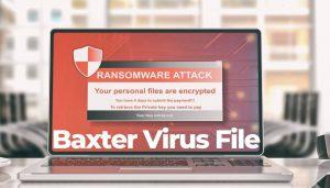 rimuovere-baxter-virus-file-sensorstechforum