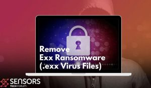 remove exx virus ransomware snsorstechforum