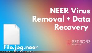 remove neer virus neer files sensorstechforum ransomware removal guide