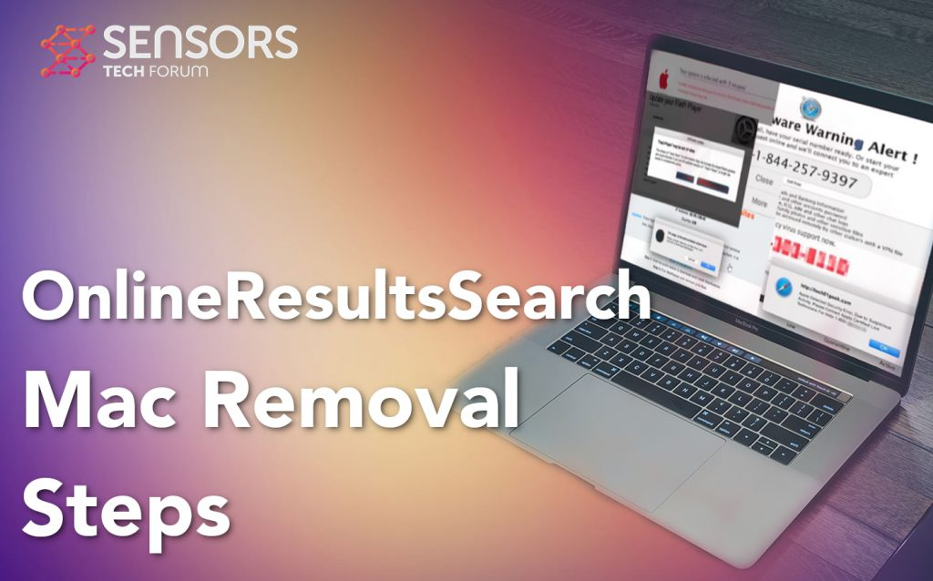 OnlineResultsSearch Mac Removal Steps