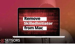 Fjernelse af SkilledInitiator mac adware