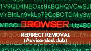 remove Advisorded club redirect ads sensorstechforum guide