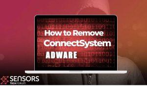 remove ConnectSystem mac adware sensorstechforum