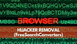 remover FreeSearchConverters navegador hijacker senorstechforum guia