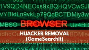 remove GameSearchIt hijacker from browser and pc