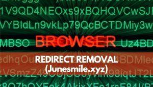 remove Junesmile.xyz ads sensorstechforum guide