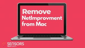 remove NetImprovment adware on mac