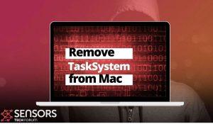 remove TaskSystem mac virus sensorstechforum guide